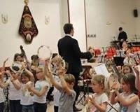 jeugdorkest DaCapo met het Muziekatelier