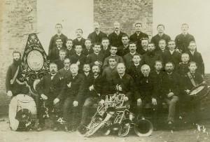 Foto 1888 Fanfare St Jozef, Thielt-Brabant kopie